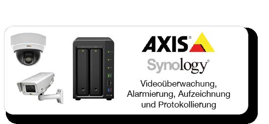 Videoüberwachung mit Axis und Synology NAS