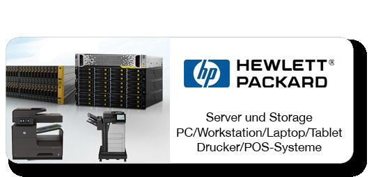 HP Hewlett Packard - Server und Storage - PC/Workstation/Laptop/Tablett - Drucker und POS-Systeme