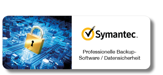 Symantec - Professionelle Backup-Software / Datensicherheit