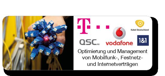 Optimierung & Überwachung von Mobilfunk / Festnetz / Internetverträgen der Deutschen Telekom, vodafone, Kabel Deutschland, Telefoncia / o2 und QSC - CARRANO IT-Consulting Optimierung & Überwachung von Handy-/Festnetz-/Datenverträgen der Deutschen Telekom, aber auch von vodafone, Kabel Deutschland, Telefoncia / o2 und QSC.